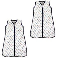 Hudson Baby® Size 12-18M 2-Pack Arrows Sleep Sacks in White