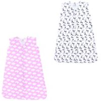 Luvable Friends® Size 18-24M 2-Pack French Poodle and Clouds Sleep Sacks in Pink