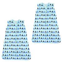 Luvable Friends® Size 18-24M 2-Pack Tepee Sleep Sacks in Blue