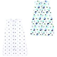 Luvable Friends® Size 18-24M 2-Pack Sailboats and Ocean Sleep Sacks in Blue