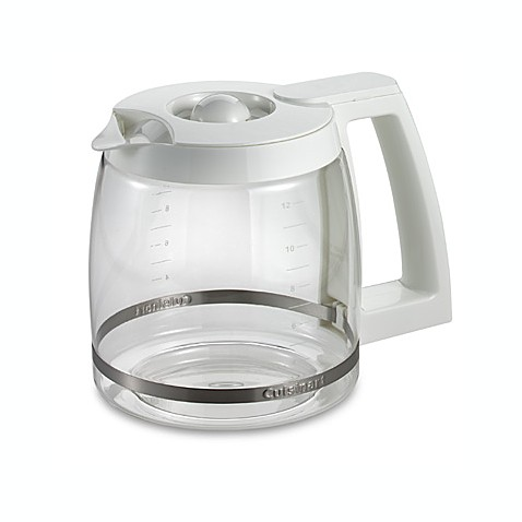 Cuisinart 174 12 Cup Replacement Carafe In White Bed Bath