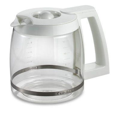 Cuisinart 14 Cup Coffee Maker Bed Bath And Beyond : Cuisinart 12-Cup Replacement Carafe in White - Bed Bath & Beyond