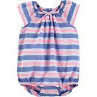 OshKosh B'gosh® Size 12M Stripe Bodysuit