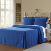 Richland Twin Bedspread Set in Blue