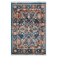 "Liora Manne Oushak 1'11"" X 2'11"" Powerloomed Area Rug in Navy"