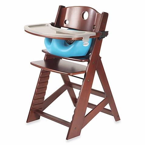 Keekaroo 174 Height Right High Chair Mahogany With Aqua