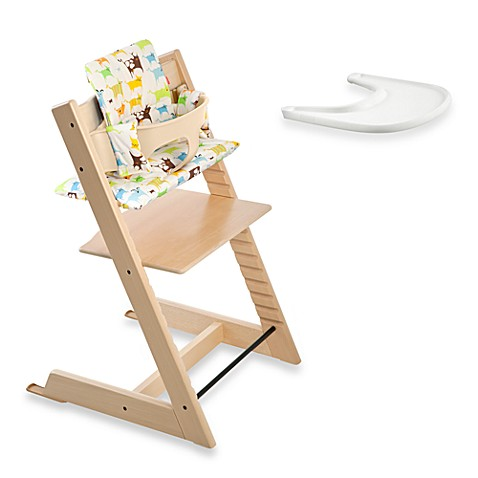 stokke tripp trapp high chair complete in natural bed bath beyond. Black Bedroom Furniture Sets. Home Design Ideas