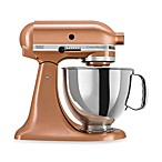 KitchenAid® Custom Metallic® Series 5 Quart Tilt-Head Stand Mixer in Copper