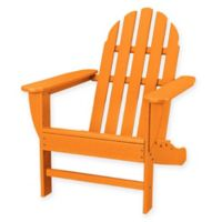 POLYWOOD® Classic Adirondack Chair in Tangerine