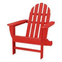 POLYWOOD® Classic Adirondack Chair in Red
