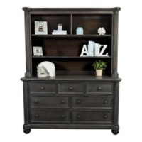 Kingsley Charleston Hutch in Weathered Woodland