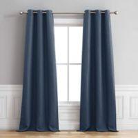 Henley 96-Inch Grommet Window Curtain Panel Pair in Indigo