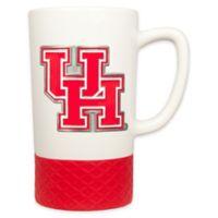 University of Houston 16 oz. Metal Emblem Ceramic Mug