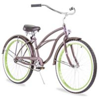 "Firmstrong Urban Lady Boutique 26"" Single Speed Beach Cruiser Bicycle in Metallic Charcoal"