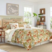 Tommy Bahama® Loredo Garden Queen Comforter Set in Orange