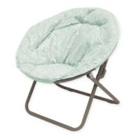 Polyester Upholstered Foil Cheetah Chair Chair in Mink