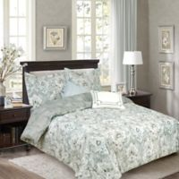 Bellagio 5-Piece King Reversible Comforter Set in Grey