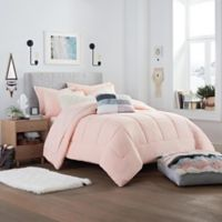 UGG® Devon Reversible Full/Queen Comforter Set in Sunset