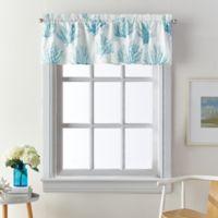 Coastal Living® Cocoa Beach Window Valance in Blue