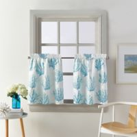 Coastal Living® Cocoa Beach 24-Inch Window Curtain Tier Pair in Blue