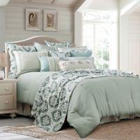 HiEnd Accents Belmont Reversible King Comforter Set in Green