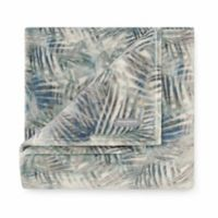 Tommy Bahama® Rough Palms Blue Sea Ultra Soft Plush Throw