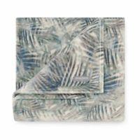 Tommy Bahama® Rough Palms Blue Sea Ultra Soft Plush Throw