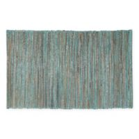 Saro Lifestyle Melaya Placemats in Turquoise (Set of 4)