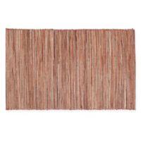 Saro Lifestyle Melaya Placemats in Rust (Set of 4)