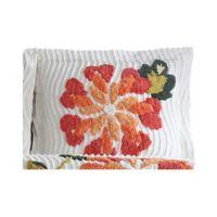 Autumn Standard Pillow Sham in White