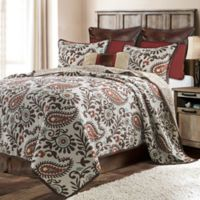 HiEnd Accents Rebecca Reversible Twin Quilt Set