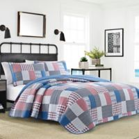 Nautica® Seaside King Quilt Set in Dark Blue