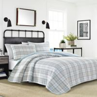 Nautica® Millbrook Quilt Set in Medium Grey