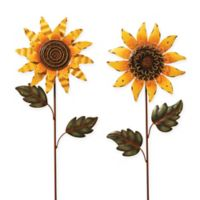 Gerson Sunflower Yard Stakes (Set of 2)