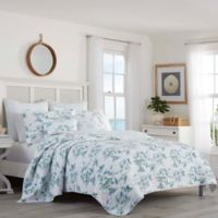 Tommy Bahama® Sailaway Reversible Twin Quilt in Blue