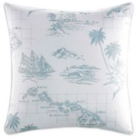 Tommy Bahama® Sailaway Square Throw Pillow in Blue