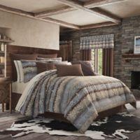 J. Queen New York™ Okemo King Comforter Set in Chocolate