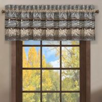 J. Queen New York™ Okemo Window Valance in Chocolate