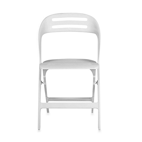 Safavieh Danielle Folding Chair in White (Set of 4)