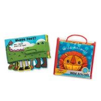 Melissa & Doug® K's Kids Soft Activity Baby Book Bundle (Set of 2)