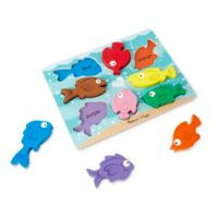 Melissa & Doug® Colorful Fish 8-Piece Chunky Puzzle