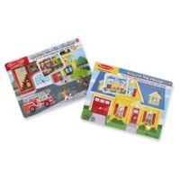 Melissa & Doug® Sound Wooden Puzzles (Set of 2)