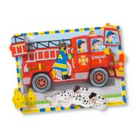 Melissa & Doug® 18-Piece Fire Truck Chunky Wooden Puzzle