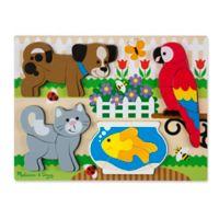 Melissa & Doug® 20-Piece Pets Chunky Jigsaw Puzzle
