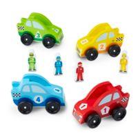 Melissa & Doug® Race Car Vehicle Playset