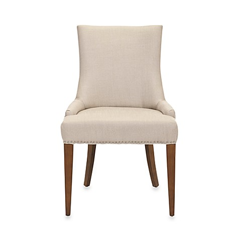 Buy safavieh becca dining chair in beige from bed bath amp beyond