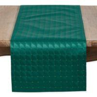 Saro Lifestyle Scintillio 72-Inch Table Runner in Green