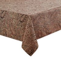 Waterford® Linens Esmerelda 70-Inch x 104-Inch Oblong Tablecloth in Spice