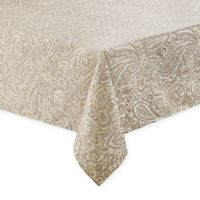 Waterford® Linens Esmerelda 70-Inch x 84-Inch Oblong Tablecloth in Golden