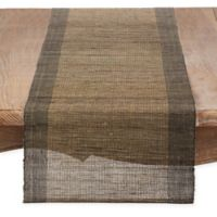 Saro Lifestyle Melaya 72-Inch Table Runner in Natural